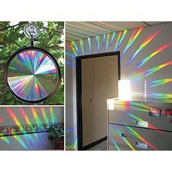 Rainbow Window Holographic Prism - Buy Rainbow Window Holographic Prism - Purchase Rainbow Window Holographic Prism (Rainbow Symphony, Inc., Toys & Games,Categories,Activities & Amusements,Prisms & Kaleidoscopes)