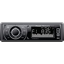 See 1 - Single-DIN In-Dash Mechless Receiver with Detachable Face, Single-DIN in-dash mechless receiver, 52W x 4, PL-10A Details