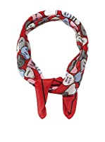 MOSCHINO CHEAP AND CHIC Pañuelo (Rojo / Multicolor)