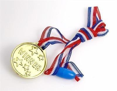 6-winners-gold-medal-on-ribbon-ideal-birthday-party-loot-bag-filler-gift