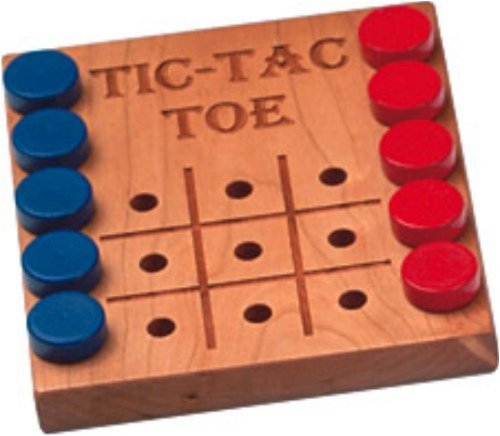 Deluxe Cherry Tic-Tac-Toe Game