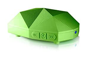 Outdoor Tech OT1800 Turtle Shell 2.0 - Rugged Water-Resistant Wireless Bluetooth Hi-Fi Speaker (Green)