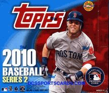 2010 Topps Series 2 Jumbo Baseball Hobby Box
