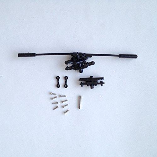 STARKID-Ersatzteil-68507-Rotorkopf-mit-Paddelstange-Stabilisator-Stange-Blatthalter-fr-RC-Heli-Hawk-Deluxe-68028
