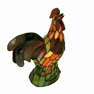 Rooster Tiffany Lamp