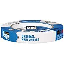 3M Blue Painter's Tape, Multi-Use, .70-Inch by 60-Yard