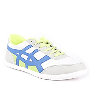 GlobaLite Men's Casual Shoes Wing Ace White Blue Lime GSC1053