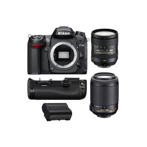 REFLEX Numérique D7000 + AF-S DX 16-85mm 3,5-5,6G ED VR + AF-S DX VR 55-200 mm f/4-5.6 G IF ED G...