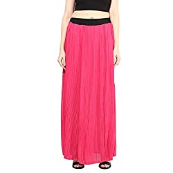 Martini Women's Skirt (MART1480_Pink_30)