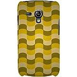 For Samsung Galaxy S3 Mini I8190 :: Samsung I8190 Galaxy S III Mini :: Samsung I8190N Galaxy S III Mini Puzzle Pattern ( Puzzle Pattern, Zigzag Pattern, African Pattern ) Printed Designer Back Case Cover By FashionCops