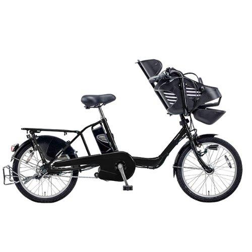 PANASONIC BE-ENMD036-B2 ピュアマットブラック ギュット・ミニ・DX [電動自転車(20インチ・3段変速)]