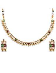Bhagwathi Antique Necklace Set (BGPS0012)