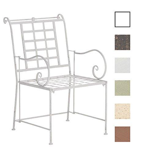 CLP-nostalgischer-Metall-Garten-Stuhl-HELEN-aus-Eisen-aus-bis-zu-6-Farben-whlen-antik-wei