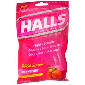 Amazon.com: HALLS COUGH DROP STRAWBERRY 30 EACH: Health ...