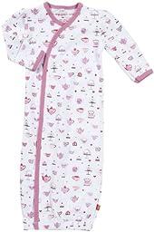 Magnificent Baby Baby-Girls Newborn Gown, Tea Cups, New Born