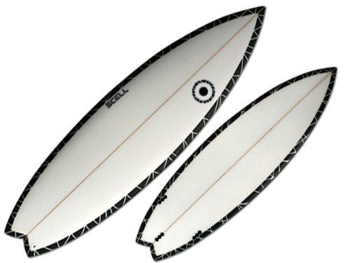 ショートボード5'11 BP●サーフボード◆SCELL サーフィン