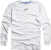 Fox Racing Soleed Tech Long Sleeve T-Shirt - Small/White