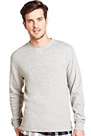 North Coast Textured Ribbed Long Sleeve T-Shirt