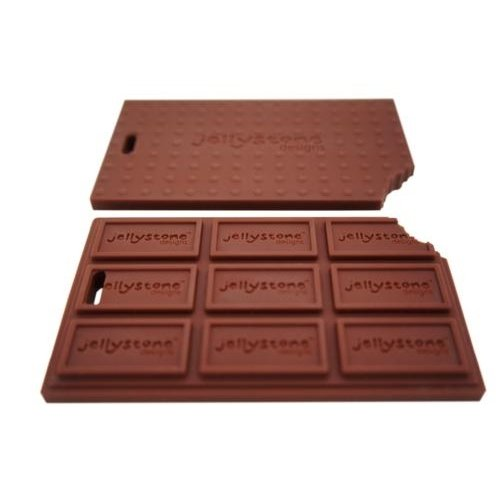 jChew Chocolate Bar Silicone Teether
