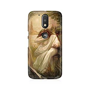 Mobicture Illusion Premium Printed Case For Moto G4/G4 Plus