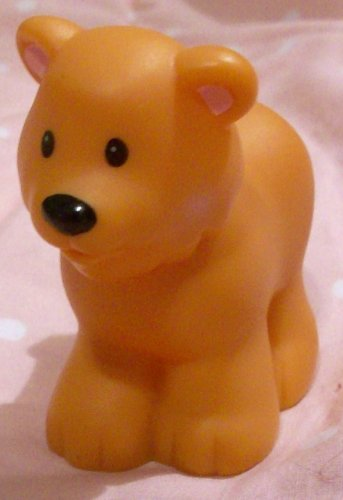 Buy Low Price Mattel Fisher Price Little People Bear Replacement Figure Doll Toy (B00258QLJY)