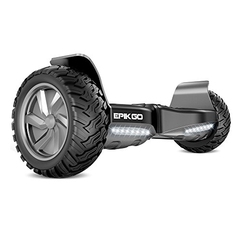 epikgo self balancing scooter hover self balance board ul2272 certified all terrain 8 5. Black Bedroom Furniture Sets. Home Design Ideas
