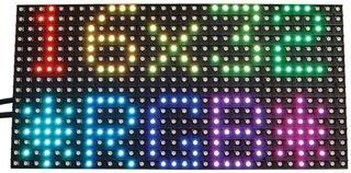 Adafruit Industries 420 Led Display, Alphanumeric, 16X32, Rgb