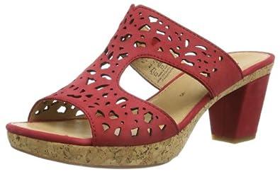 Gabor Shoes Gabor 85.733.15 Damen Clogs & Pantoletten, Rot (rot (+Absatz)), EU 40 (UK 6.5) (US 9)