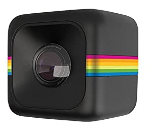 Polaroid [Newest Version] Cube+ Mini Lifestyle Action Camera with Wi-Fi & Image Stabilization