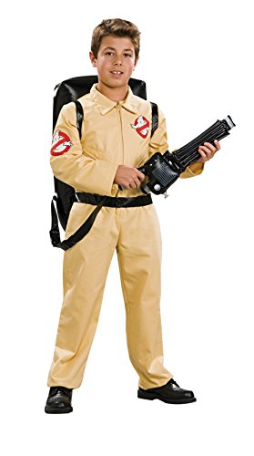 [UHC Boy's Ghostbusters Deluxe Kids Child Fancy Dress Party Halloween Costume, L (12-14)] (Ghostbusters Plus Size Costumes)
