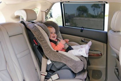 Dream Baby Wide Car Window Shade, Black, 2 Pack
