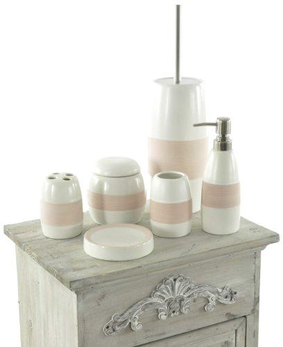 Moderne badezimmergestaltung 4 ideen von mediterran bis - Duschvorhang mit orchideen ...