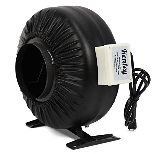 Heat Duct Booster Blower : Kenley cfm air inline duct fan inch exhaust booster