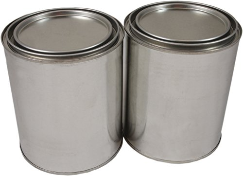 Empty Quart Paint Cans with Lids (2 Pack) High Quality Empty Paint Cans Value Pack (Empty Paint Cans Quart compare prices)