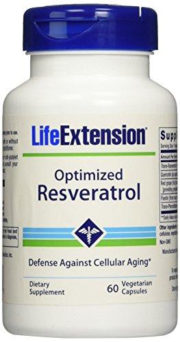 Life Extension Optimized Resveratrol, 60 Vcaps