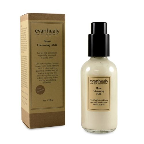 Rose Cleansing Milk 4oz cleanser by Evan Healy