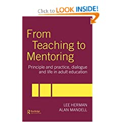 From Teaching or Tutoring to Mentoring