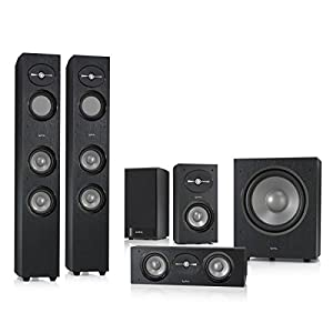"""Infinity Infinity 5.1 System R263BK Floor Standing Speaker with 12"""" Sub, Rears and a Free Center Speaker"""