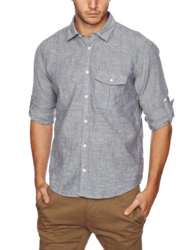 Cottonfield Johan Men's Shirt Mineral Blue Medium