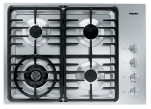 Miele : KM3465G 30 Stainless Steel Gas Cooktop