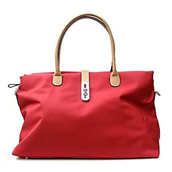 Tosca Womens Nylon Oversized Travel Tote Bag w/ Detachable Shoulder Strap - Choice of Colors!
