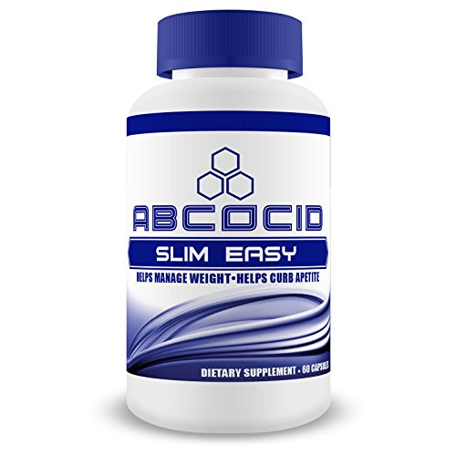Abcocid Slim Easy With Raspberry Ketone, Green Tea Fucoxanthin, Vitamin B12