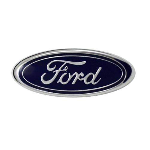 Ford Oval Replacement Rear Deck Lid Emblem; For 1987-1993 Ford Mustang