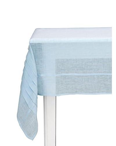 Lene Bjerre Linea Light Blue Tablecloth with Pleats
