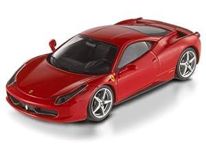 Ferrari 458 Italia Red Scuderia Elite Edition 1/43 by Hotwheels X5502 by Hotwheels