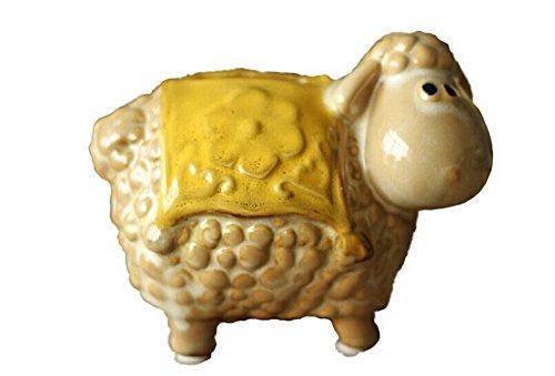 Pastoral Home Furnishing Decor Resin Decoration-Ceramic Storage Tank--Sheep