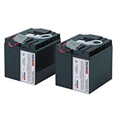 New Battery Pack for APC Smart-UPS 750 230V USB SUA750IX38 Compatible Replacement by UPSBatteryCenter