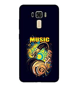 EPICCASE Beat that Music Mobile Back Case Cover For Asus Zenfone 2 Laser ZE551KL (Designer Case)
