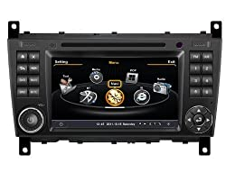 See susay(TM) for Mercedes-Benz C Class W203 2004-2007 Car DVD Player With GPS Navigation(free Map)Audio Video Stereo System with Bluetooth , USB/SD, AUX Input, Radio(AM/FM), TV, Plug & Play Installation Details