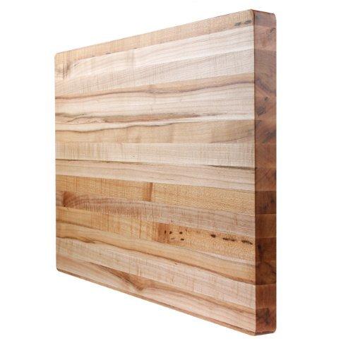 Kobi Blocks Maple Edge Grain Butcher Block Wood Cutting Board 30